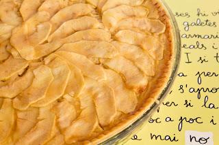 Tarta de manzana veraniega