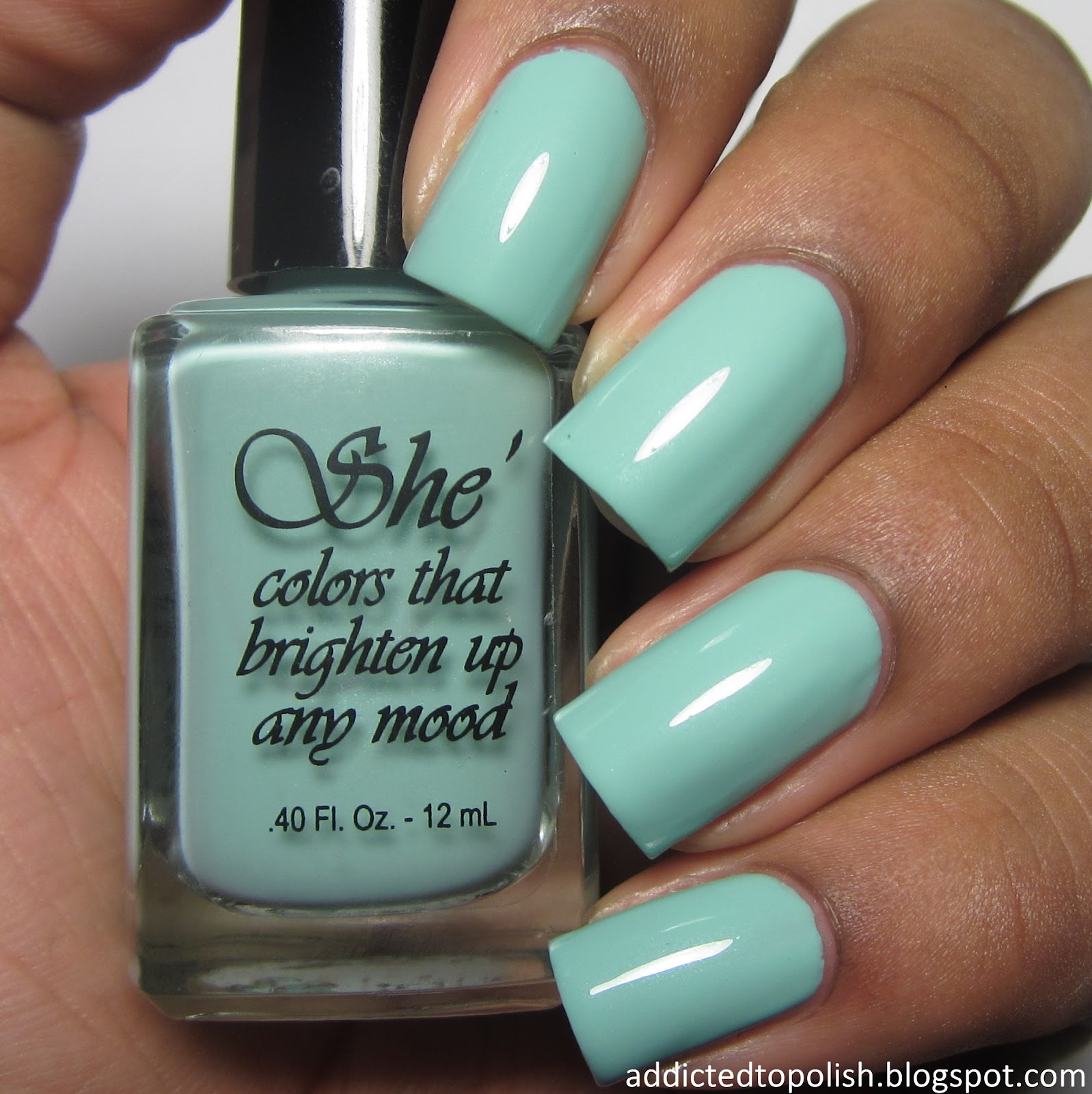 she nail polish oh tiff