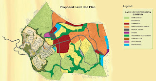 Timberland Heights Quezon City Environs Land Use Plan