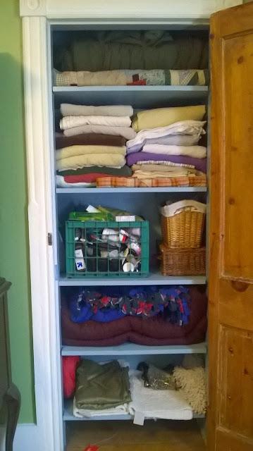 former linen closet