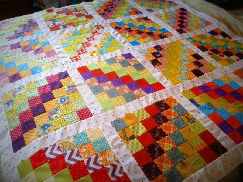 trip around the world quilt block