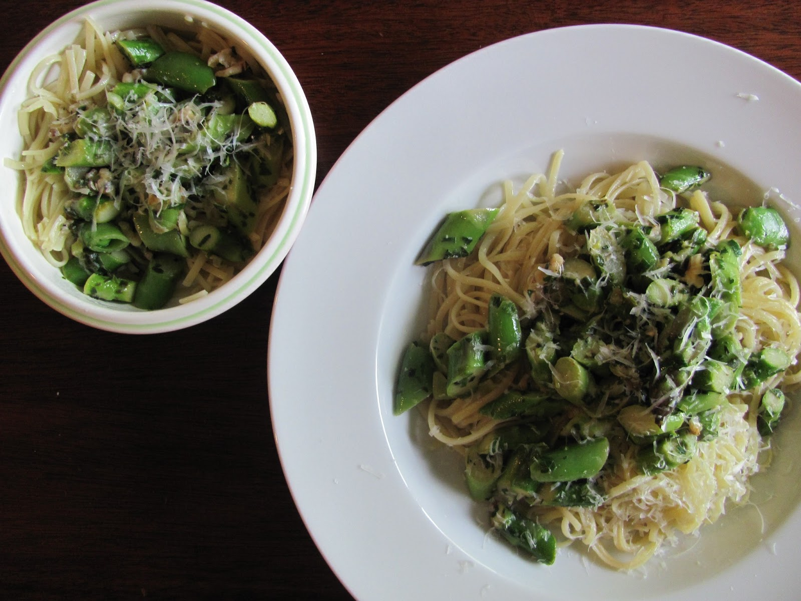... Life Sustained: {CSA Recipes} Linguine with Spring Vegetables & Herbs