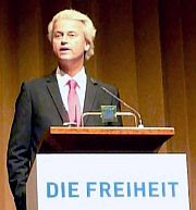 Berlin, Sept 3 2011: Geert Wilders