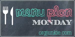 Menu Plan Monday - Weekly Meal Plan Ideas