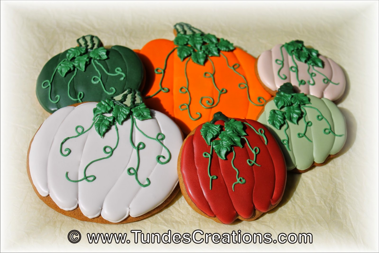 Fall Pumpkin cookies