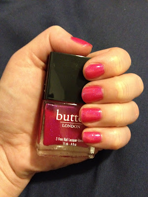 butter LONDON, butter LONDON nail polish, butter LONDON Nail Lacquer, butter LONDON Disco Biscuit nail polish, nail, nails, nail polish, polish, lacquer, nail lacquer, mani, manicure, mani of the week, manicure of the week, butter LONDON mani, butter LONDON manicure