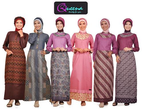 Koleksi Model Baju Batik Muslim Modern Model Baju Batik