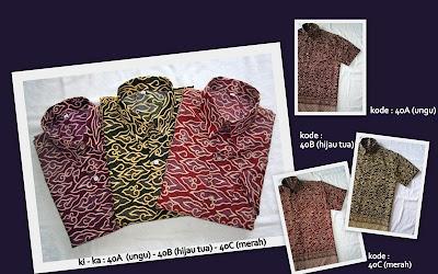 Baju Batik Pria 40ABC