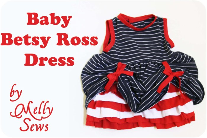 Betsy Ross Baby Melly Sews