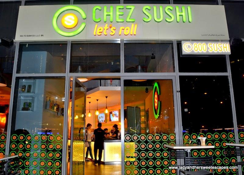 Chez Sushi in Dubai Marina