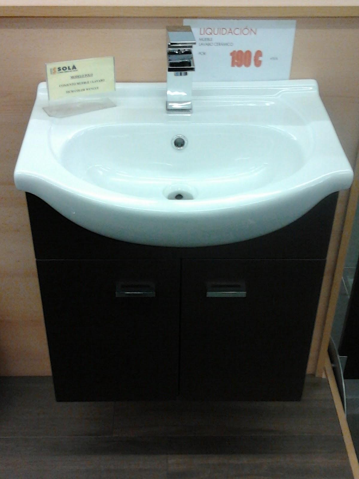 Azulejos Baño Ofertas:Azulejos Sola: Muebles de baño de oferta