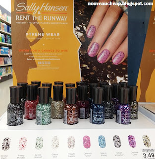 Sally Hansen & Rent the Runway Fall 2013 Glitter Polish