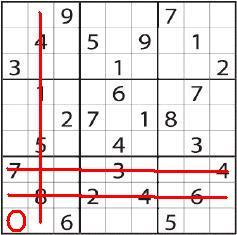 vuoto per sudoku