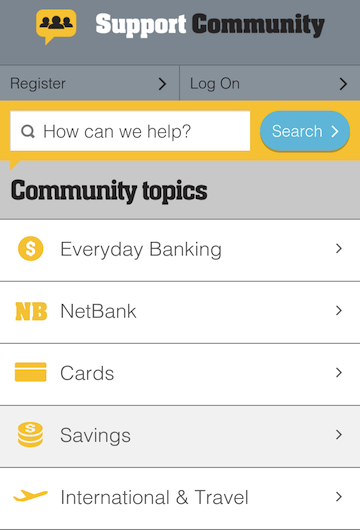 CommBank Support Community