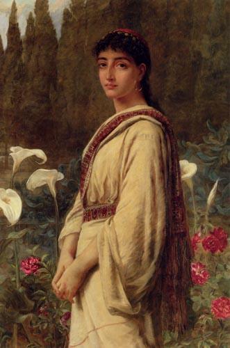 Edwin Longsden Long lily