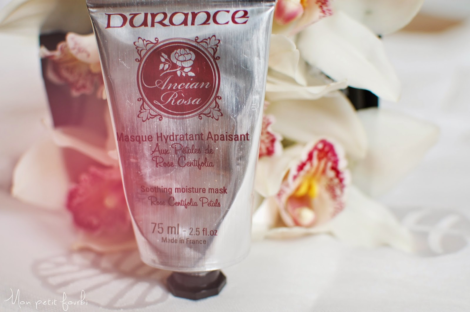 Masque hydratant Durance Gamme Ancian Rosa