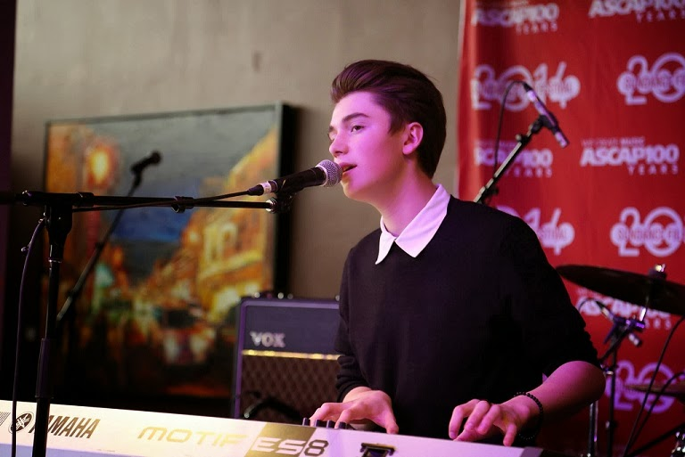 Greyson Chance performing at the Sundance Film Festival - 2104