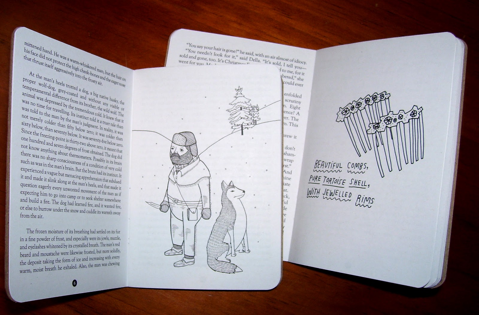 Jack London Illustrated By Michael C Hsiung; O Henry Illustrated By Kate  Bingamanburt
