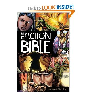 The Action Bible Audiobook (MP3 CD)