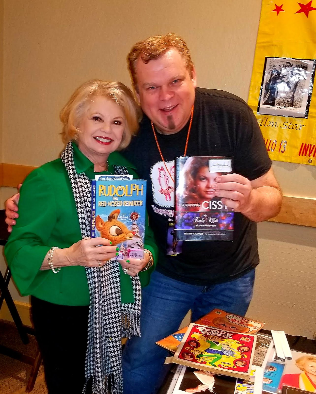 "The Wonderful Kathy ""Cissy"" Garver from Family Affair loved her Rudolph book!"