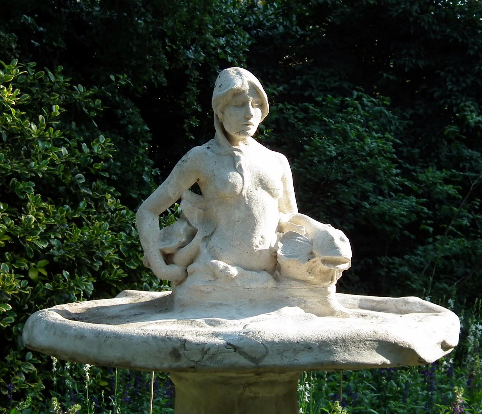 Mermaid Fountain, Hyde Park W1