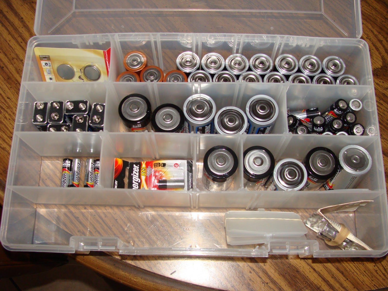 Make, Do and Mend: Batteries- My favorite way to organize them