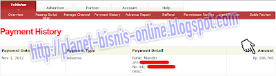 Bukti Pembayaran Pay Per Click Indonesia, Pay Per Click Indonesia Terbaik, PPC Indonesia Terbaik