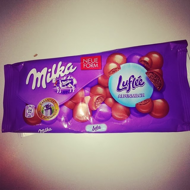 Milka Luflee Schokolade Detox Entgiftung abgebrochen Flussperle