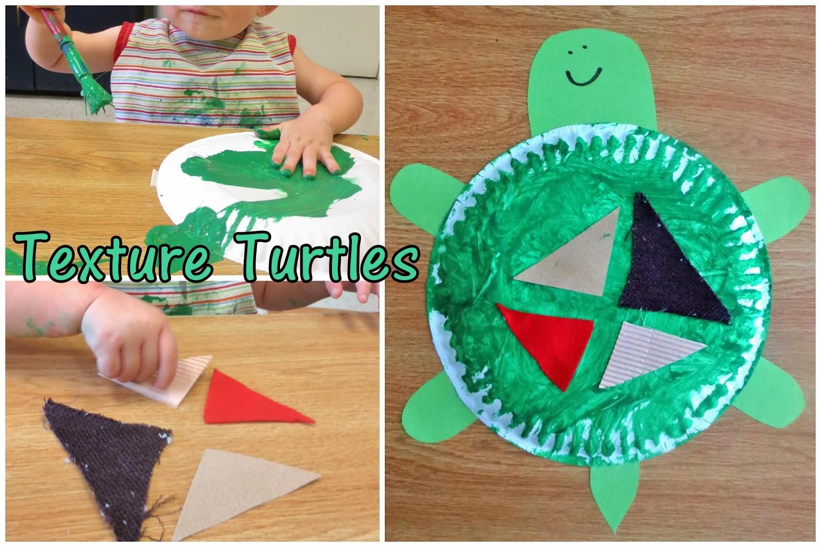 Princesses, Pies, & Preschool Pizzazz: Texture Turtles