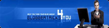 Blogger Tricks | Blogger Templates| Blogger Hacks