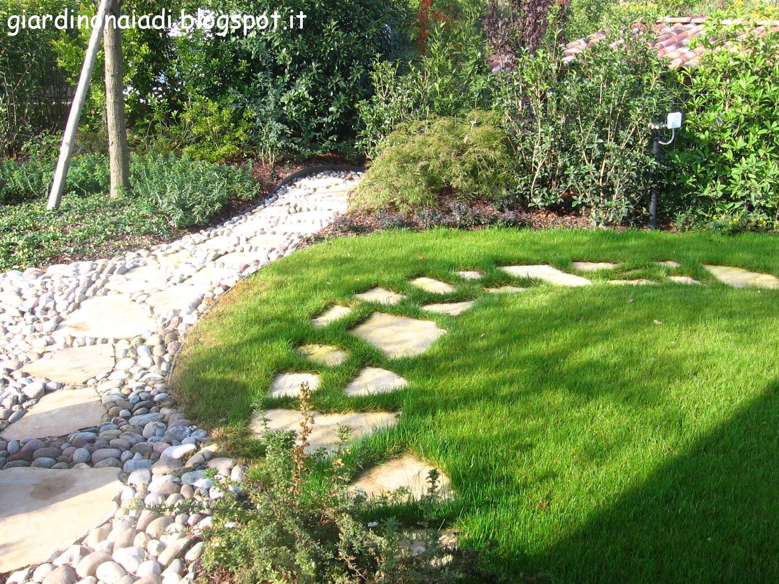 Il giardino delle naiadi il giardino acquatico orientale - Pietre camminamento giardino ...