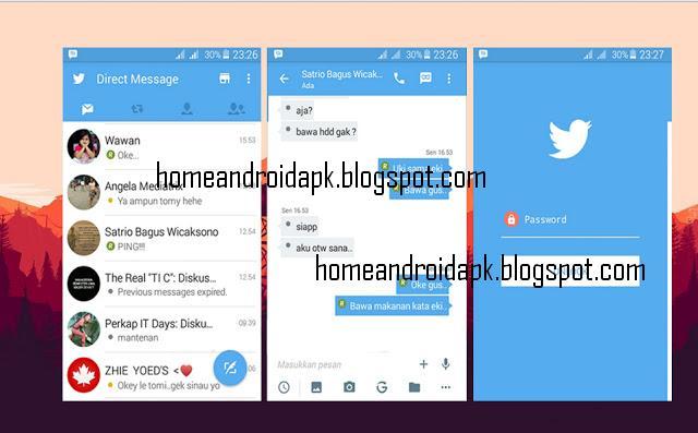 Download MOD BBM New Themes Twitter Version  Download MOD BBM New Themes Twitter V2.11.0.18