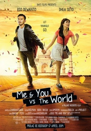 Film ME & YOU vs The World 2014 di Bioskop