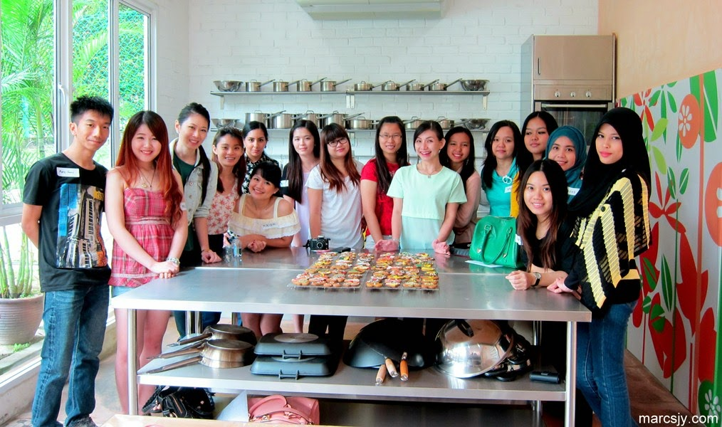 Christmas Baking Class - at19 Culinary with The Butterfly Project Bloggers