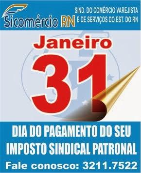 CONTRIBUIÇÃO SINDICAL 2014