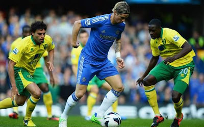 Hasil dan Video Gol Chelsea vs Norwich City