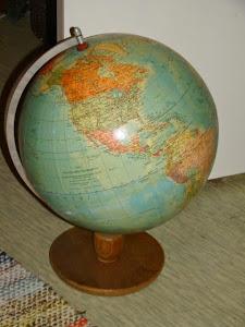 Pallokartta - karttapallo