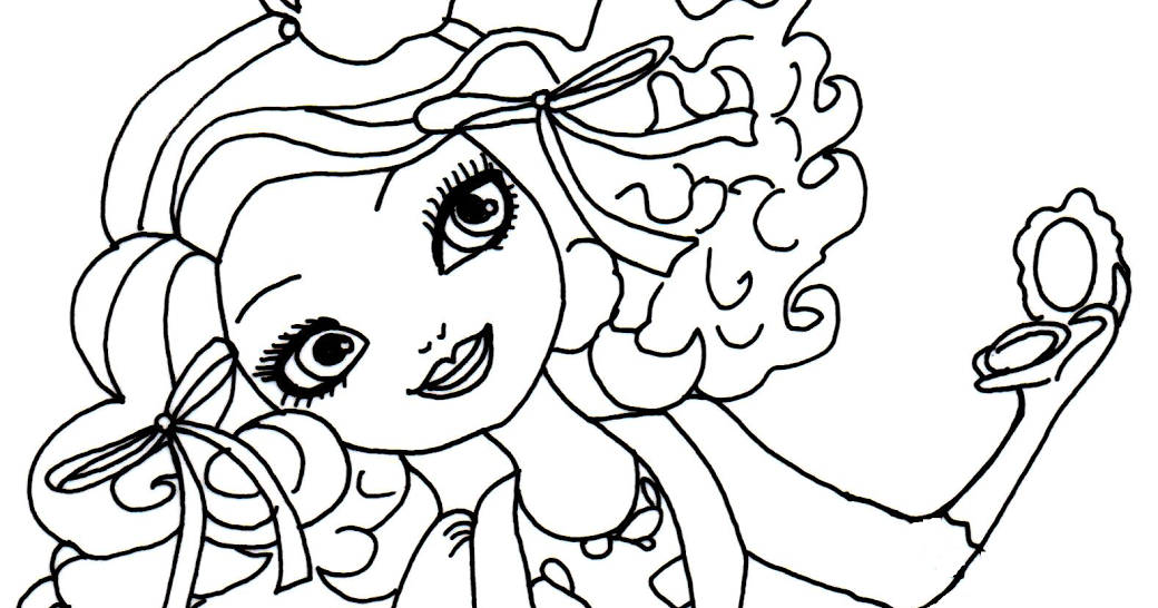 printable coloring pages madeline hatter printable best