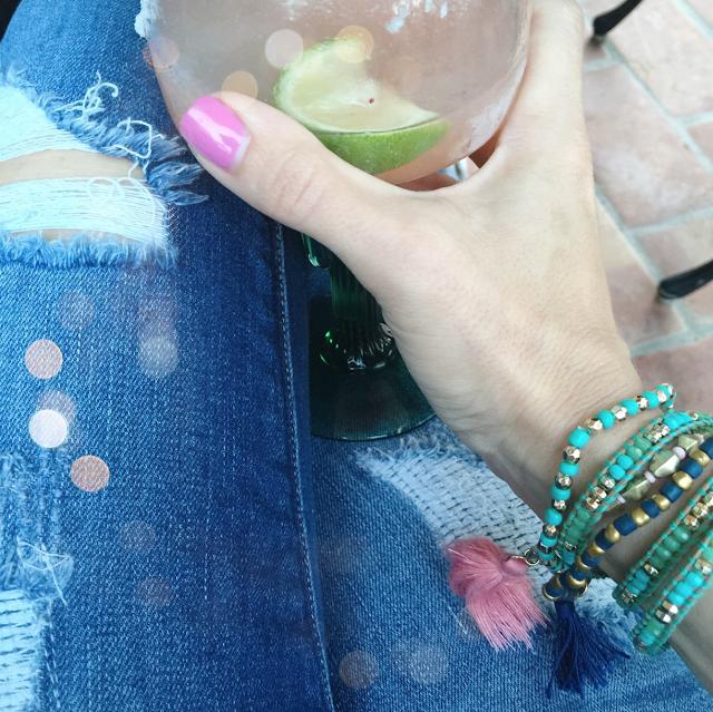 beaded tassel bracelets
