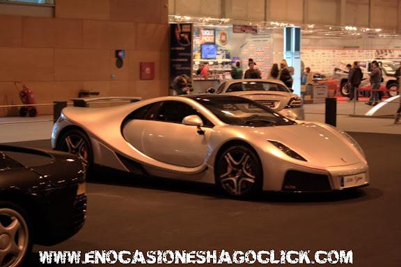 GTA Spano en Madrid Motor Days