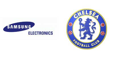 Samsung and Chelsea Logos