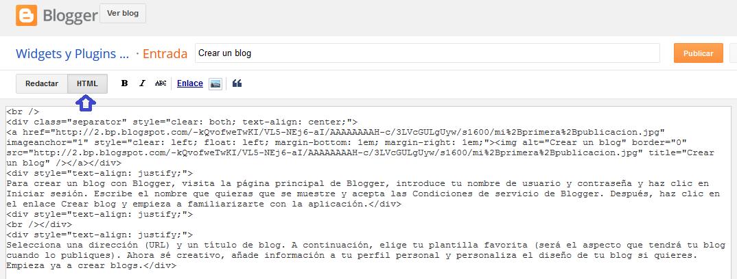 Cómo publicar correctamente una entrada en mi blog de Blogger