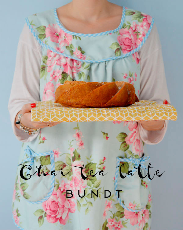 Chai Tea Latte Bundt Cake