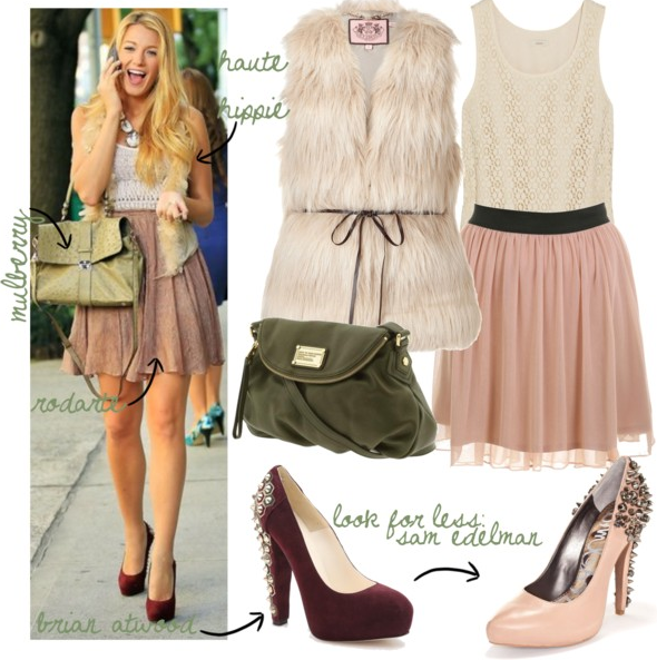 Les Look Gossip Girl Gossip Trendy