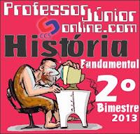 Provas de História do 2º bimestre - Fundamental