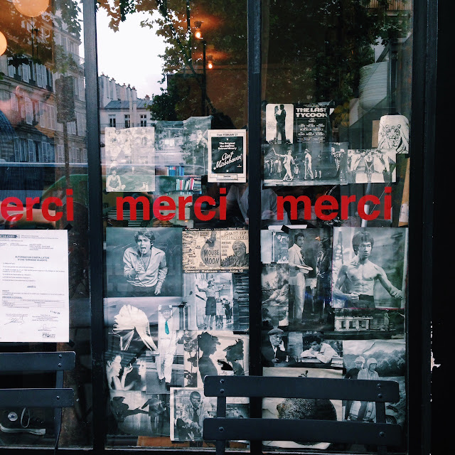 Marci cafe in Paris