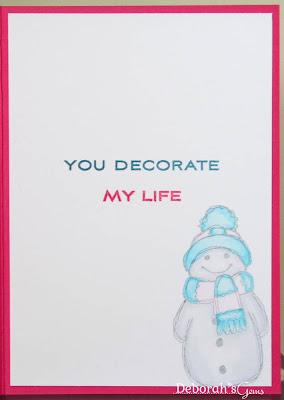 Kathryn's Card inside - photo by Deborah Frings - Deborah's Gems