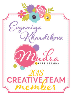 Я была в DT Mudra Craft Stamps