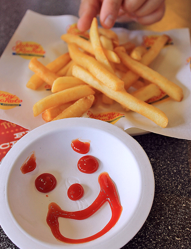 Visit a Johnny Rockets near you for a taste of The Original Hamburger (Chicken Melts and Boca Patties too!) a handspun malt, and classic Americana in a 50's diner setting!
