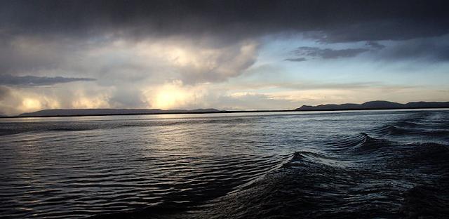 La isla del Sol o isla Titicaca en Bolivia